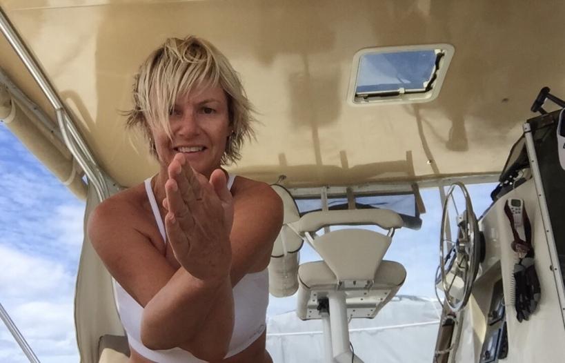 Leanne Yoga4Yachties ocean flow
